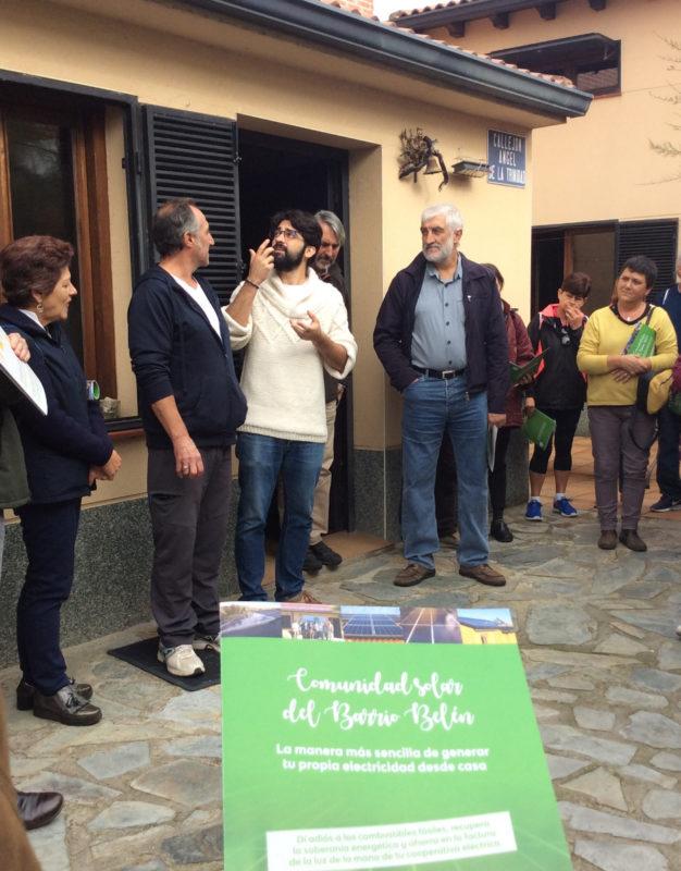 Lanzada la Comunidad Solar de Barrio Belén en Valladolid