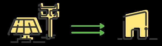 Instalaciones individuales con conexión a red